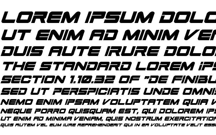 specimens Space Ranger Bold Italic font, sample Space Ranger Bold Italic font, an example of writing Space Ranger Bold Italic font, review Space Ranger Bold Italic font, preview Space Ranger Bold Italic font, Space Ranger Bold Italic font