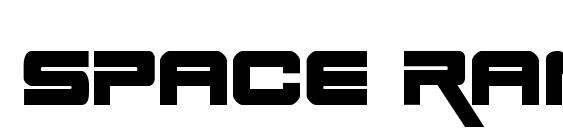 Space Ranger Bold Font