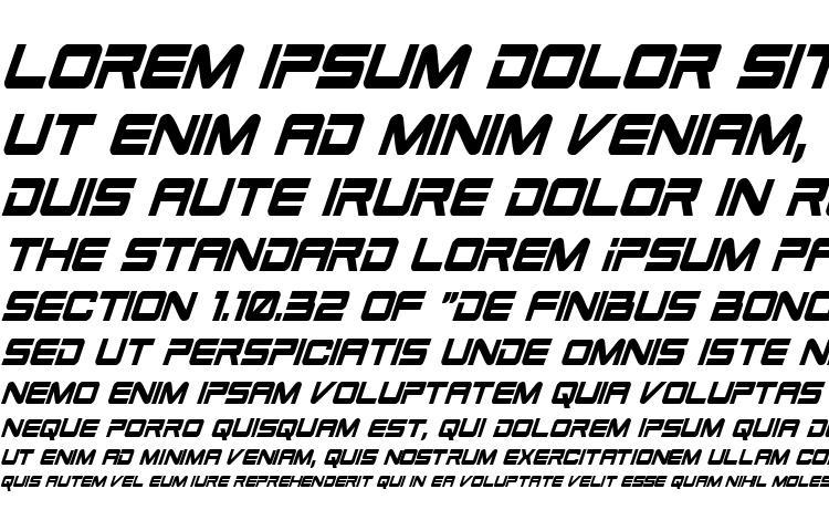 specimens Space Ranger Condensed Italic font, sample Space Ranger Condensed Italic font, an example of writing Space Ranger Condensed Italic font, review Space Ranger Condensed Italic font, preview Space Ranger Condensed Italic font, Space Ranger Condensed Italic font