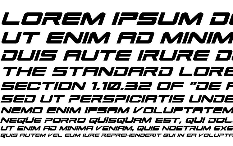 specimens Space Ranger Expanded Italic font, sample Space Ranger Expanded Italic font, an example of writing Space Ranger Expanded Italic font, review Space Ranger Expanded Italic font, preview Space Ranger Expanded Italic font, Space Ranger Expanded Italic font