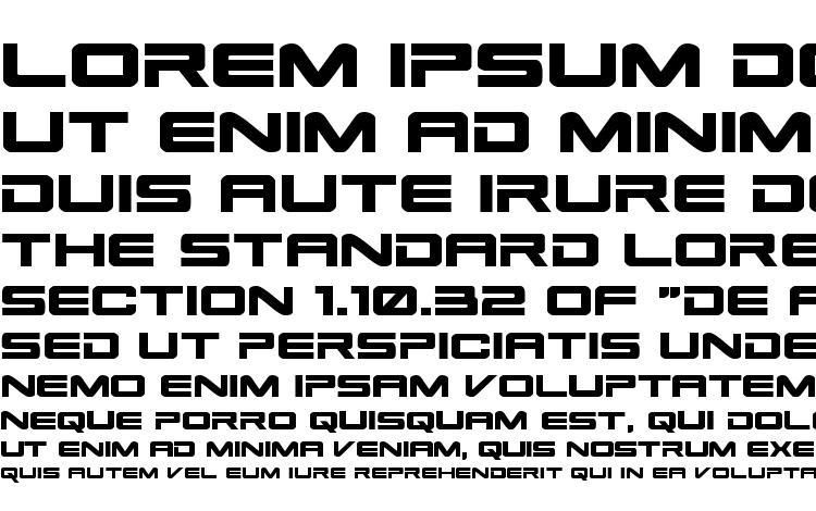 specimens Space Ranger Expanded font, sample Space Ranger Expanded font, an example of writing Space Ranger Expanded font, review Space Ranger Expanded font, preview Space Ranger Expanded font, Space Ranger Expanded font