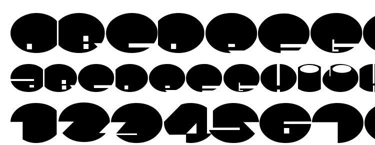 глифы шрифта Spaceace, символы шрифта Spaceace, символьная карта шрифта Spaceace, предварительный просмотр шрифта Spaceace, алфавит шрифта Spaceace, шрифт Spaceace