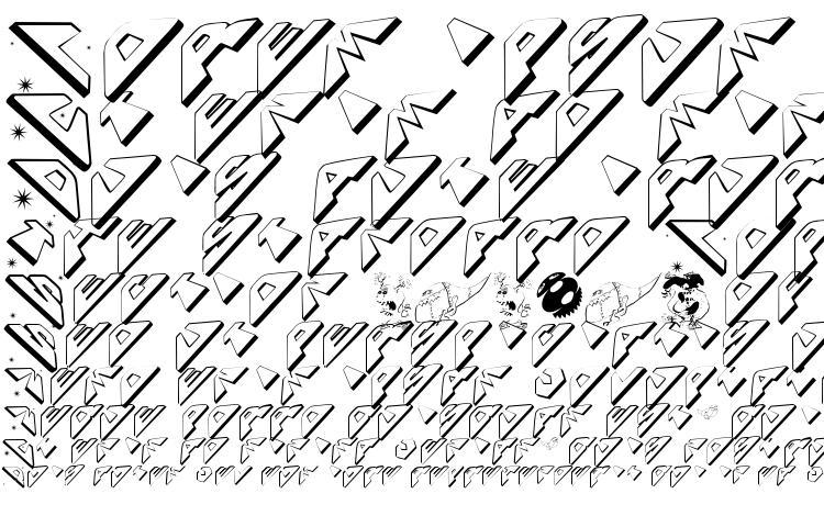 specimens Spaceattacks font, sample Spaceattacks font, an example of writing Spaceattacks font, review Spaceattacks font, preview Spaceattacks font, Spaceattacks font