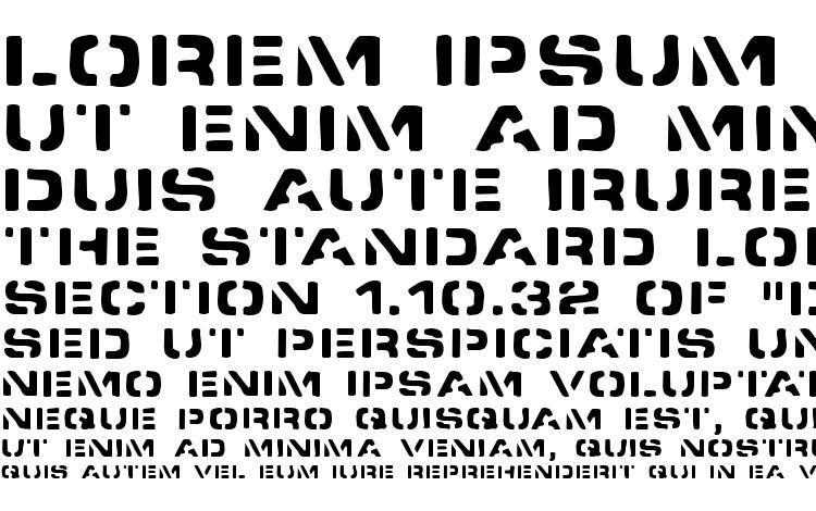 specimens Spacedock stencil font, sample Spacedock stencil font, an example of writing Spacedock stencil font, review Spacedock stencil font, preview Spacedock stencil font, Spacedock stencil font