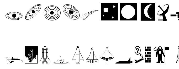 глифы шрифта Spaceo, символы шрифта Spaceo, символьная карта шрифта Spaceo, предварительный просмотр шрифта Spaceo, алфавит шрифта Spaceo, шрифт Spaceo