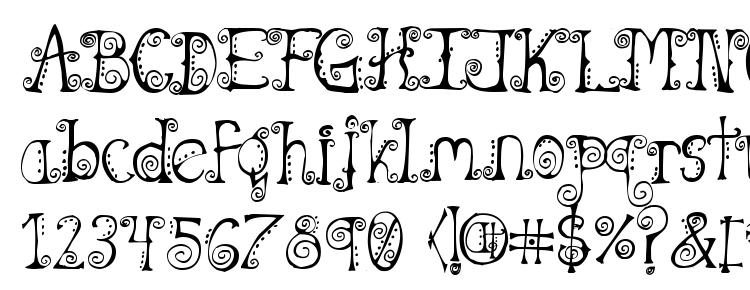 glyphs Spahrty girl font, сharacters Spahrty girl font, symbols Spahrty girl font, character map Spahrty girl font, preview Spahrty girl font, abc Spahrty girl font, Spahrty girl font