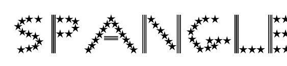 SpangledMast Font