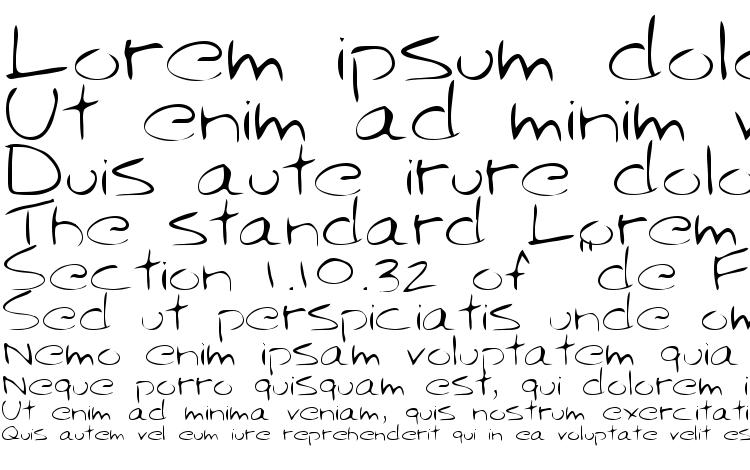 specimens Sparky Regular font, sample Sparky Regular font, an example of writing Sparky Regular font, review Sparky Regular font, preview Sparky Regular font, Sparky Regular font