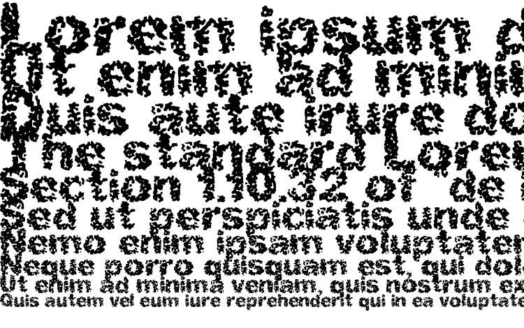 specimens Spastic (BRK) font, sample Spastic (BRK) font, an example of writing Spastic (BRK) font, review Spastic (BRK) font, preview Spastic (BRK) font, Spastic (BRK) font