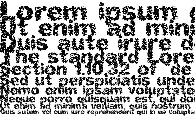specimens Spastic BRK font, sample Spastic BRK font, an example of writing Spastic BRK font, review Spastic BRK font, preview Spastic BRK font, Spastic BRK font