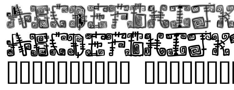 glyphs Spazzz Caps font, сharacters Spazzz Caps font, symbols Spazzz Caps font, character map Spazzz Caps font, preview Spazzz Caps font, abc Spazzz Caps font, Spazzz Caps font