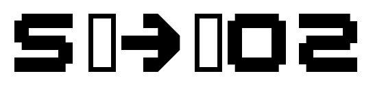 Шрифт Spdr02