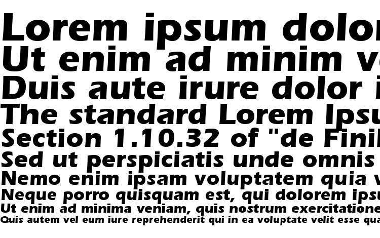 specimens Speedo Black SSi Bold font, sample Speedo Black SSi Bold font, an example of writing Speedo Black SSi Bold font, review Speedo Black SSi Bold font, preview Speedo Black SSi Bold font, Speedo Black SSi Bold font