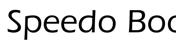 Speedo Book SSi Medium Font