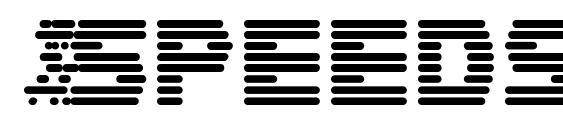 шрифт Speedster, бесплатный шрифт Speedster, предварительный просмотр шрифта Speedster