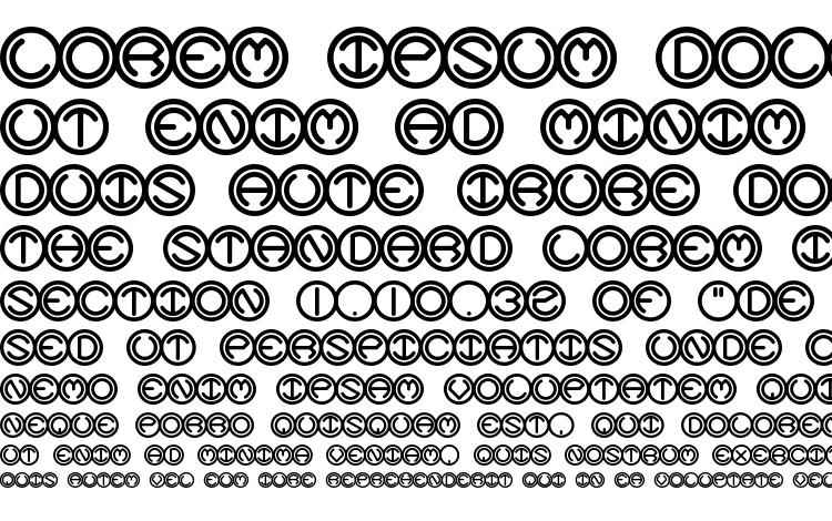 specimens Spheroids BRK font, sample Spheroids BRK font, an example of writing Spheroids BRK font, review Spheroids BRK font, preview Spheroids BRK font, Spheroids BRK font