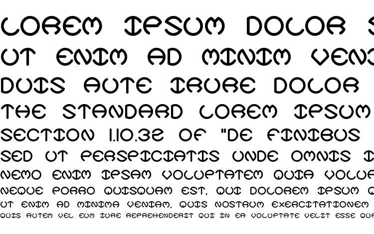 specimens Spheroids X BRK font, sample Spheroids X BRK font, an example of writing Spheroids X BRK font, review Spheroids X BRK font, preview Spheroids X BRK font, Spheroids X BRK font