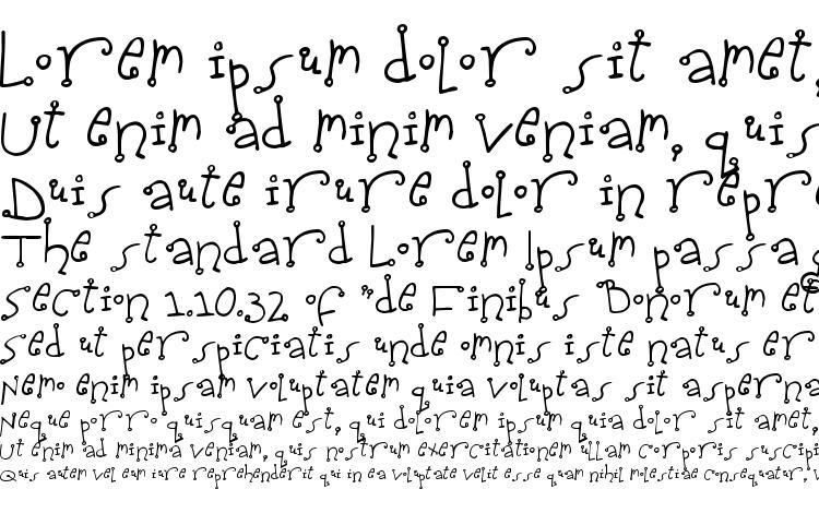 specimens Spidershank font, sample Spidershank font, an example of writing Spidershank font, review Spidershank font, preview Spidershank font, Spidershank font
