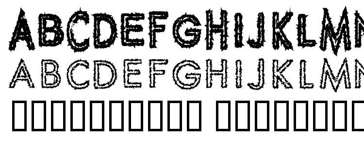 glyphs Spike Crumb Geiger font, сharacters Spike Crumb Geiger font, symbols Spike Crumb Geiger font, character map Spike Crumb Geiger font, preview Spike Crumb Geiger font, abc Spike Crumb Geiger font, Spike Crumb Geiger font