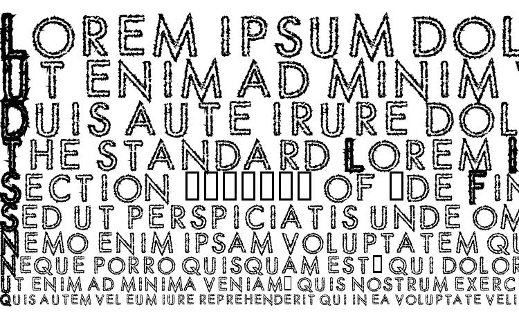 specimens Spike Crumb Geiger font, sample Spike Crumb Geiger font, an example of writing Spike Crumb Geiger font, review Spike Crumb Geiger font, preview Spike Crumb Geiger font, Spike Crumb Geiger font