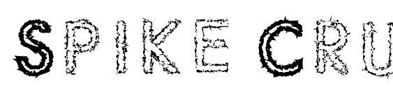 Spike Crumb Swizzle Font