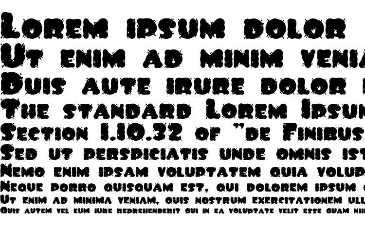 образцы шрифта Spilt ink, образец шрифта Spilt ink, пример написания шрифта Spilt ink, просмотр шрифта Spilt ink, предосмотр шрифта Spilt ink, шрифт Spilt ink