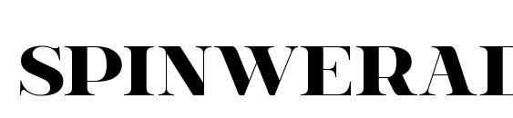 spinweradC Bold Font