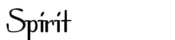 шрифт Spirit, бесплатный шрифт Spirit, предварительный просмотр шрифта Spirit