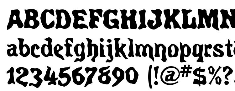 glyphs Spirits MF font, сharacters Spirits MF font, symbols Spirits MF font, character map Spirits MF font, preview Spirits MF font, abc Spirits MF font, Spirits MF font