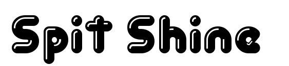 Шрифт Spit Shine