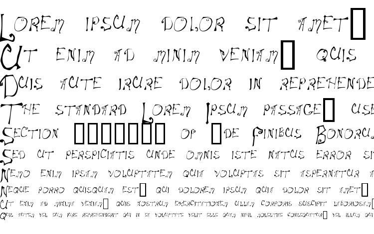specimens Spitcurl font, sample Spitcurl font, an example of writing Spitcurl font, review Spitcurl font, preview Spitcurl font, Spitcurl font