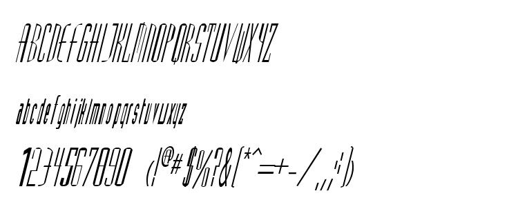 глифы шрифта Splain Italic, символы шрифта Splain Italic, символьная карта шрифта Splain Italic, предварительный просмотр шрифта Splain Italic, алфавит шрифта Splain Italic, шрифт Splain Italic