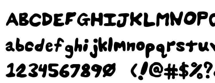 глифы шрифта Splats unsplatted, символы шрифта Splats unsplatted, символьная карта шрифта Splats unsplatted, предварительный просмотр шрифта Splats unsplatted, алфавит шрифта Splats unsplatted, шрифт Splats unsplatted