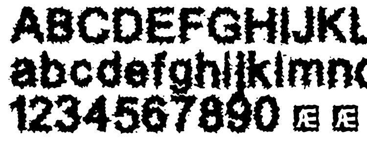 glyphs Splatz (BRK) font, сharacters Splatz (BRK) font, symbols Splatz (BRK) font, character map Splatz (BRK) font, preview Splatz (BRK) font, abc Splatz (BRK) font, Splatz (BRK) font