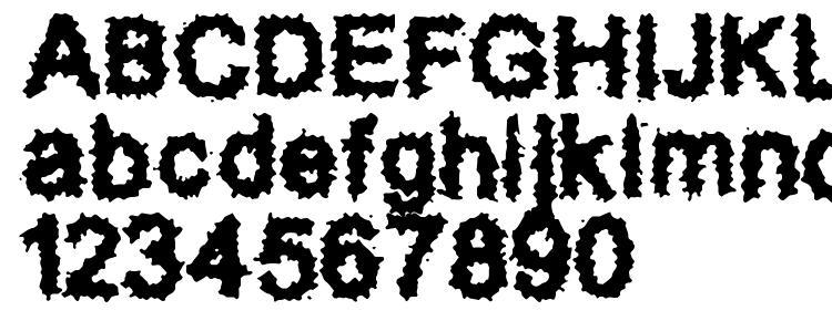 glyphs Splatz BRK font, сharacters Splatz BRK font, symbols Splatz BRK font, character map Splatz BRK font, preview Splatz BRK font, abc Splatz BRK font, Splatz BRK font
