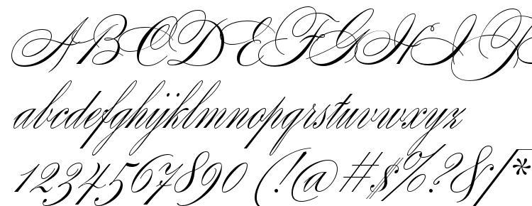 глифы шрифта Splendid Script, символы шрифта Splendid Script, символьная карта шрифта Splendid Script, предварительный просмотр шрифта Splendid Script, алфавит шрифта Splendid Script, шрифт Splendid Script