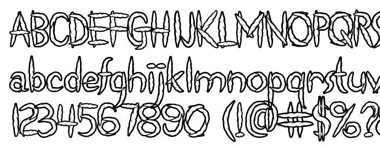 глифы шрифта Spliffs, символы шрифта Spliffs, символьная карта шрифта Spliffs, предварительный просмотр шрифта Spliffs, алфавит шрифта Spliffs, шрифт Spliffs