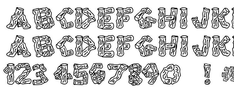 глифы шрифта Splinters JL, символы шрифта Splinters JL, символьная карта шрифта Splinters JL, предварительный просмотр шрифта Splinters JL, алфавит шрифта Splinters JL, шрифт Splinters JL
