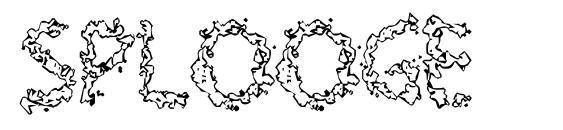 шрифт Splooge, бесплатный шрифт Splooge, предварительный просмотр шрифта Splooge