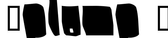 Шрифт Splump Black