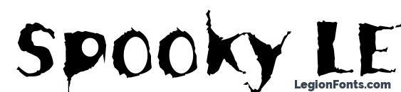 Spooky LET Plain.1.0 Font