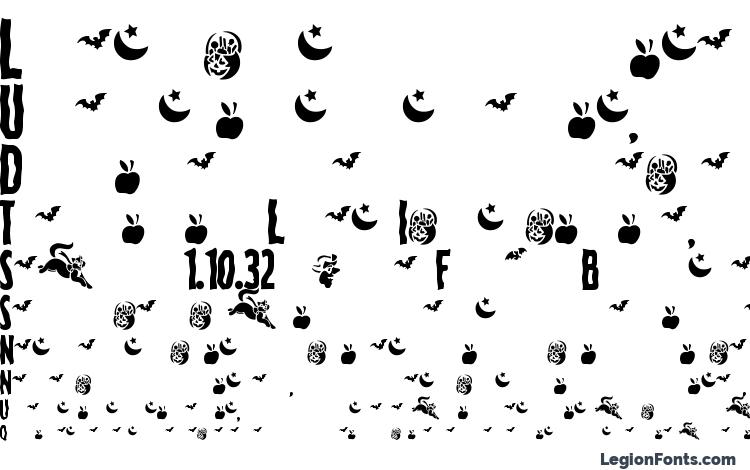 specimens Spooky Regular font, sample Spooky Regular font, an example of writing Spooky Regular font, review Spooky Regular font, preview Spooky Regular font, Spooky Regular font