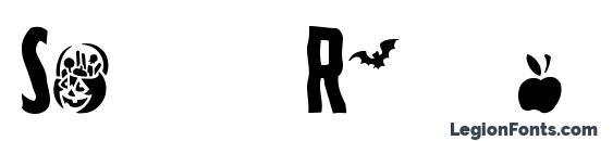 Spooky Regular font, free Spooky Regular font, preview Spooky Regular font