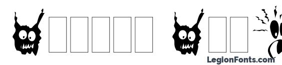 Шрифт Spooky Symbols LET Plain.1.0