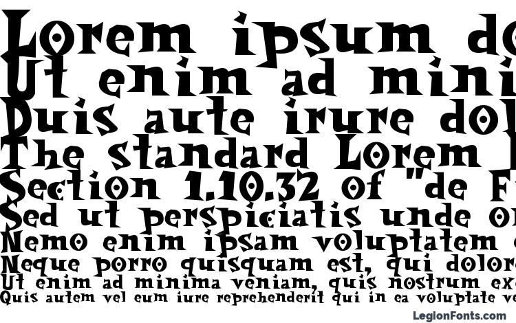 specimens Spookymagic font, sample Spookymagic font, an example of writing Spookymagic font, review Spookymagic font, preview Spookymagic font, Spookymagic font