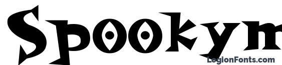 Шрифт Spookymagic