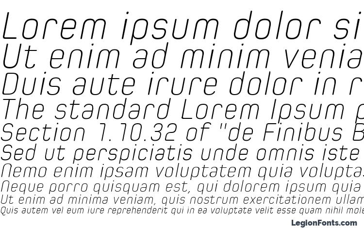 specimens Spoon Extra Light Italic font, sample Spoon Extra Light Italic font, an example of writing Spoon Extra Light Italic font, review Spoon Extra Light Italic font, preview Spoon Extra Light Italic font, Spoon Extra Light Italic font