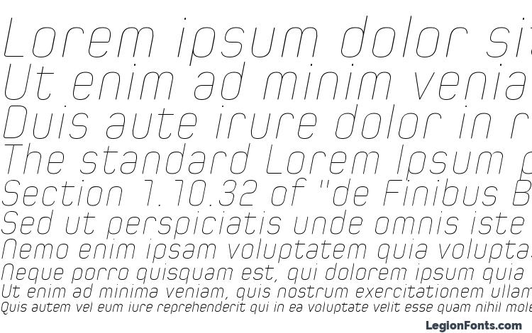 specimens Spoon Hairline Italic font, sample Spoon Hairline Italic font, an example of writing Spoon Hairline Italic font, review Spoon Hairline Italic font, preview Spoon Hairline Italic font, Spoon Hairline Italic font