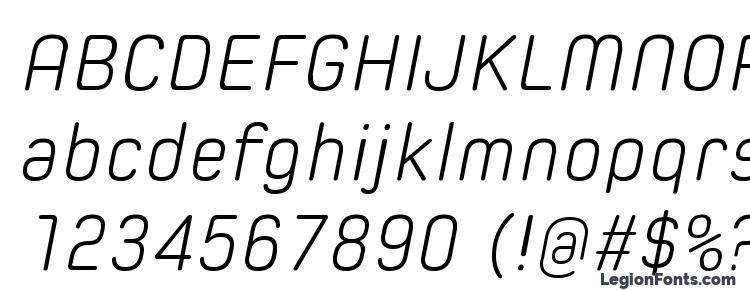 глифы шрифта Spoon Light Italic, символы шрифта Spoon Light Italic, символьная карта шрифта Spoon Light Italic, предварительный просмотр шрифта Spoon Light Italic, алфавит шрифта Spoon Light Italic, шрифт Spoon Light Italic