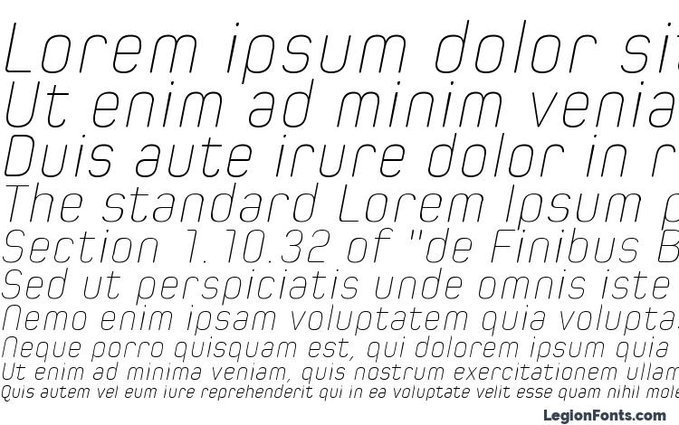 specimens Spoon Ultra Light Italic font, sample Spoon Ultra Light Italic font, an example of writing Spoon Ultra Light Italic font, review Spoon Ultra Light Italic font, preview Spoon Ultra Light Italic font, Spoon Ultra Light Italic font